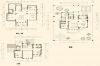 美泉园墅独栋D-B2户型 4室2厅