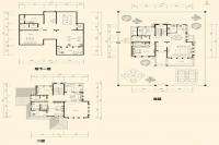 美泉园墅独栋D-A2户型 4室3厅