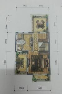 温泉新都孔雀城联排A2户型三5室5厅