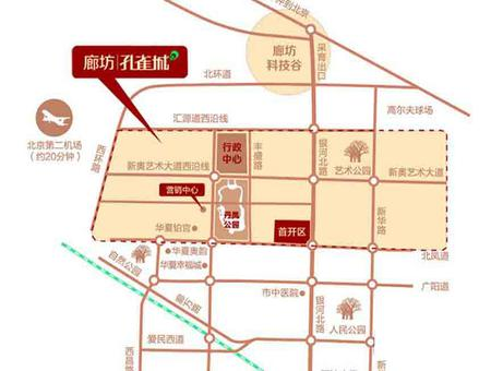 孔雀城公园海交通图