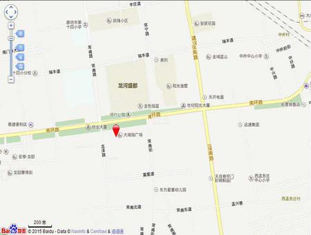 廊坊证大·大拇指广场交通图