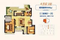 18#19#楼L6户型90㎡三居