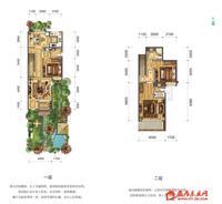 7.2期叠院下叠A(边户)户型123 平米