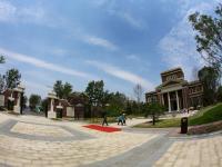 新空港孔雀城莫奈庭院实景图