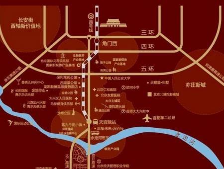 牛驼温泉孔雀城公寓交通图