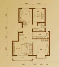 二期10号楼标准层R户型