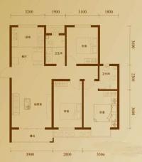 二期11号楼标准层S户型