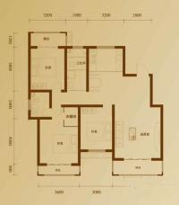 二期7号楼标准层J户型