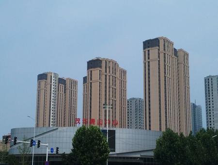 茂华唐山中心实景图