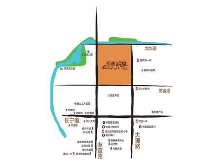 恒泰悦季交通图