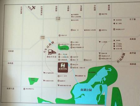 富丽国际交通图