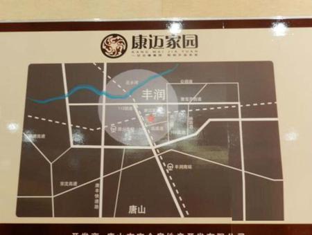丰泽园小区交通图