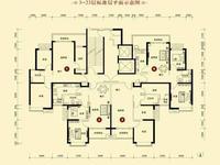 1号楼3-23层标准层平面图