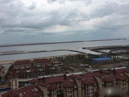 中南唐山湾实景图
