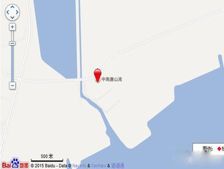 中南唐山湾交通图