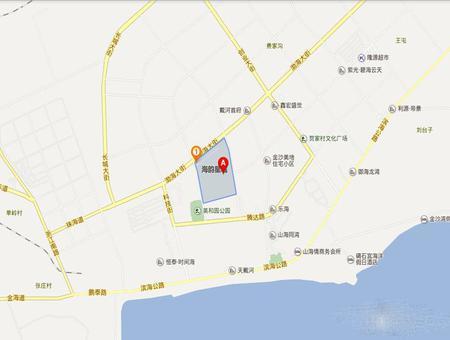海韵星城交通图