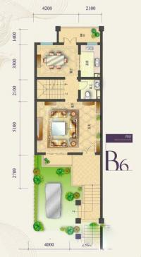 b6-2户型四室四厅五卫