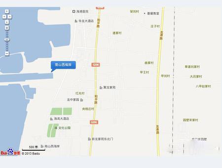 碧海尚城交通图