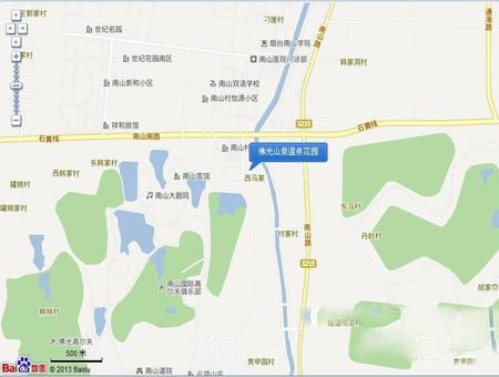 佛光山景温泉花园交通图
