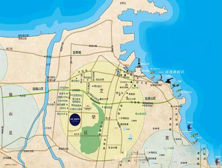 城发泰颐新城交通图