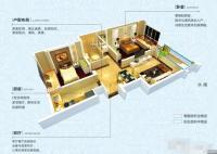 89方两室两厅一卫A户型