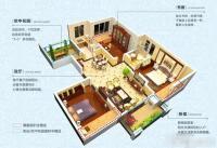 108方三室两厅一卫B户型