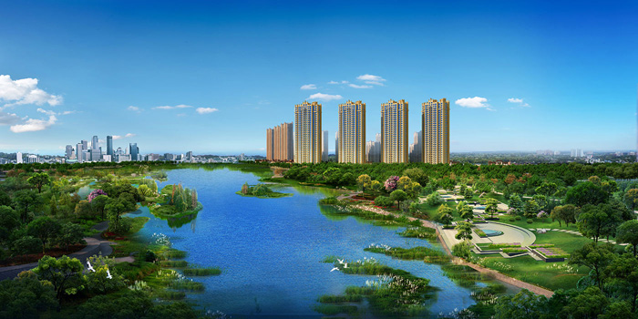 涿州孔雀城悦澜湾走出家门,感受自然