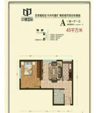公寓A户型43.93平米