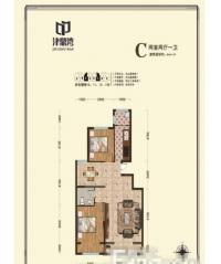 公寓C户型94.34平米