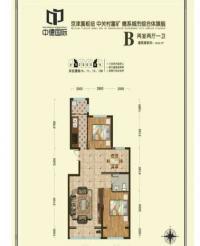 公寓B户型95.53平米
