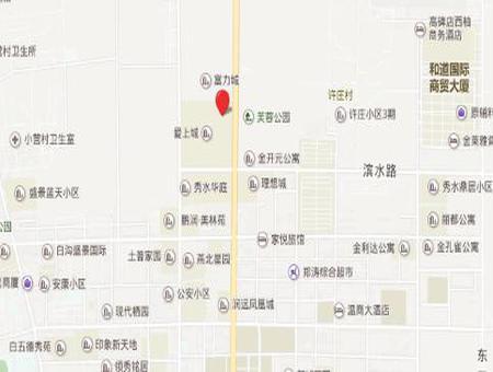 富力锦绣城交通图