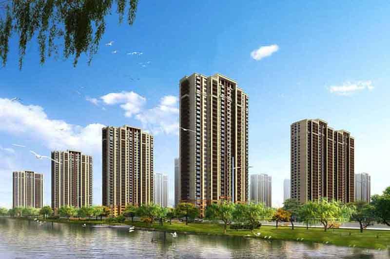 天津金科碧桂园富力渠阳府别墅户型建筑面积为150-180平